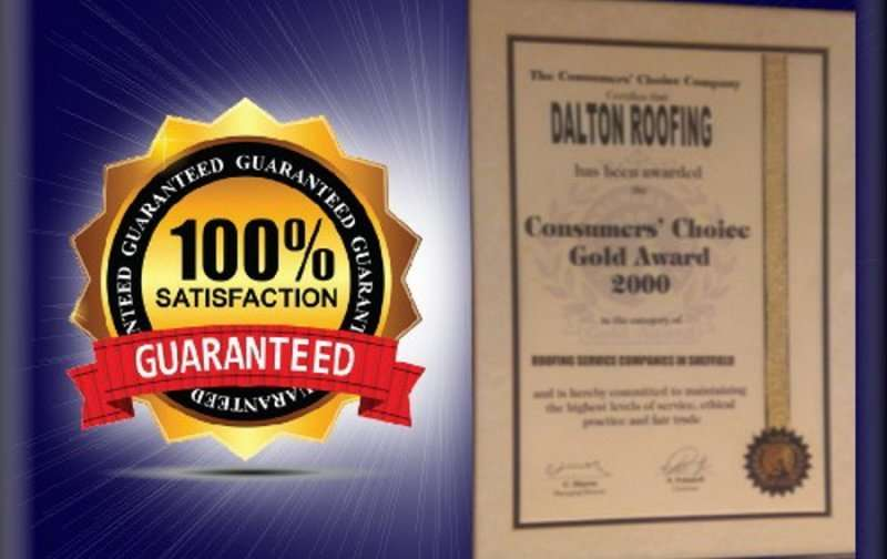 md gold award for dalton roofing wVaj